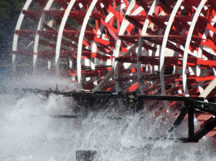 Paddle Steamer, LakeTahoe, California