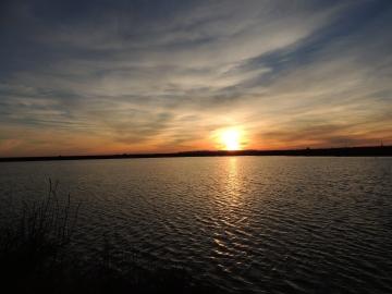 Sunset in Olhão