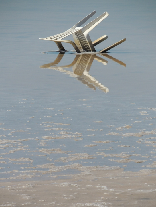 Chair in Salt Pan