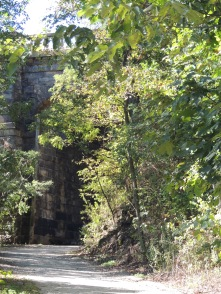Heading towards Panther Hollow bridge