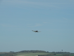 Take Off from Old Sarum Airfield