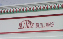 Blythe's reopened 1933