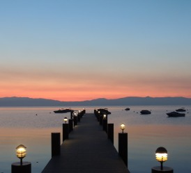 Pastels at sunrise over Tahoe