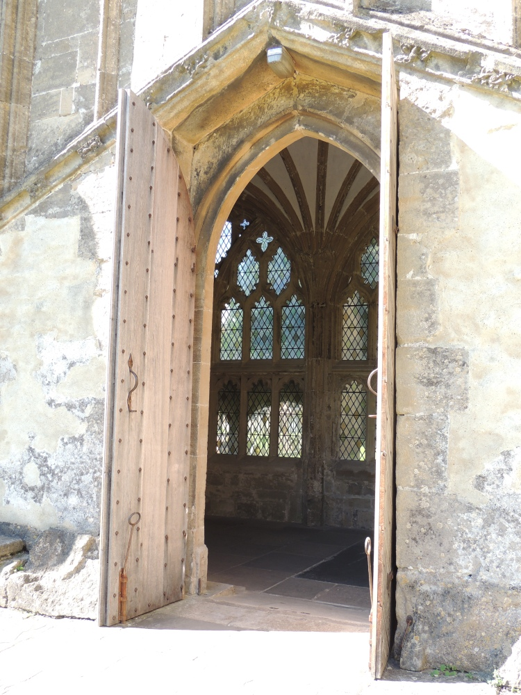 Glimpse of the east cloister
