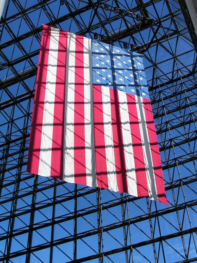 American Flag at JFK's Presidential Library