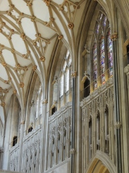 Returning to the nave
