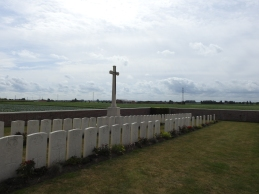 Another CWGC cemetery just yards from my uncle's