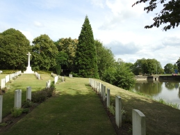 A CWGC cemetery in Ypres