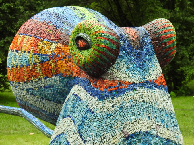 Mosaic Octopus by Marialuisa Tadei