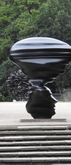 Sculpture upon sculpture