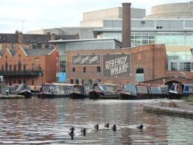 Ducks and a wharf!