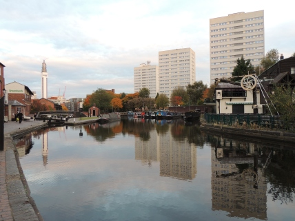 Birmingham was once the hub of the British canal network