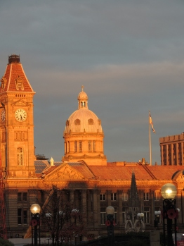 Last sunshine of the evening