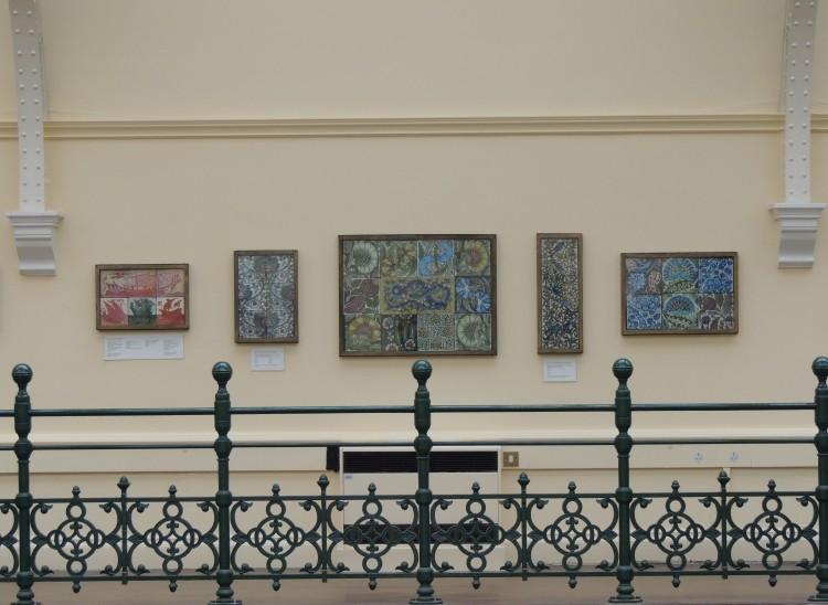 Upper gallery views