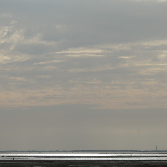 Grey skies above Ria Formosa