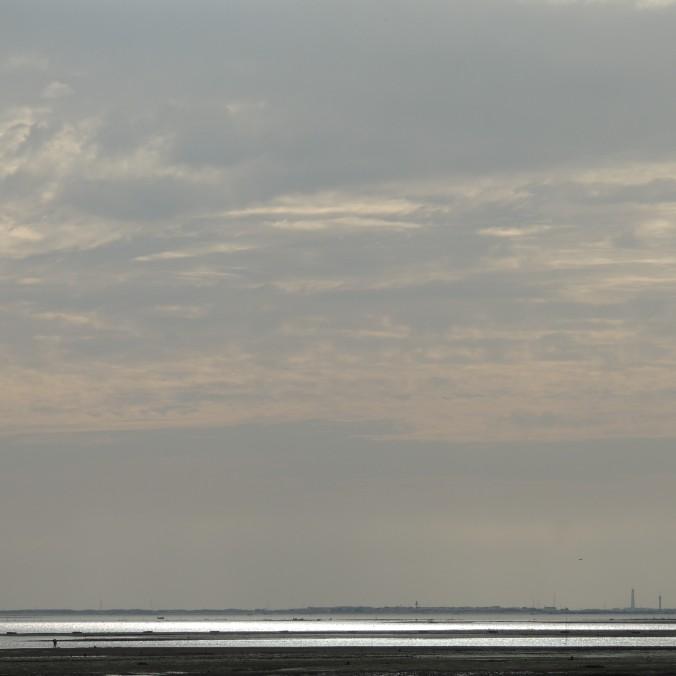 Grey skies above Ria Formosa