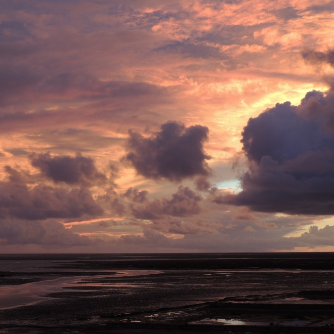 Ria Formosa at Sunset in November