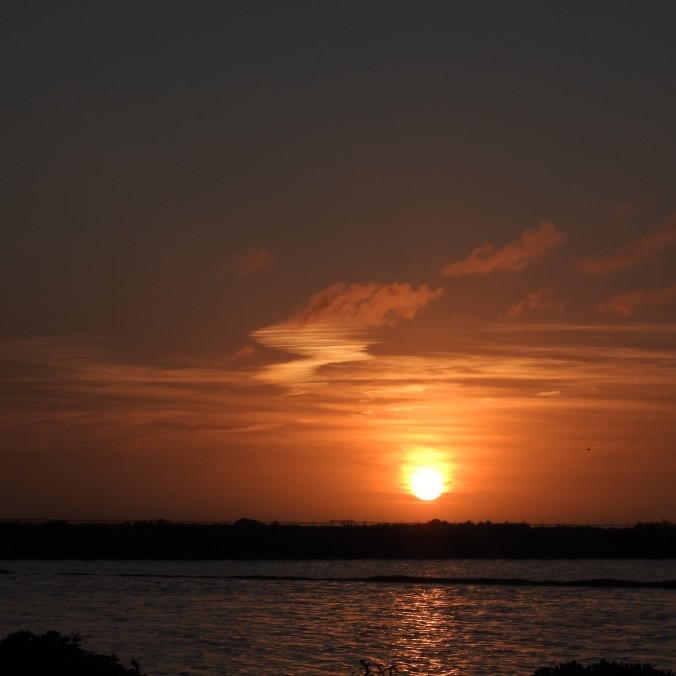 Ria Formosa at sunset