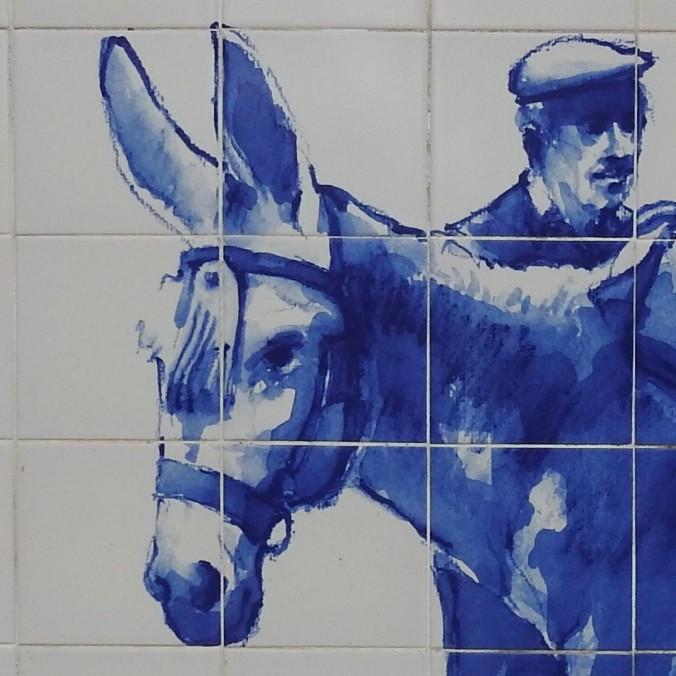 Donkey in Alcoutim