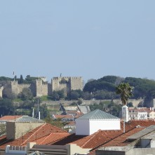 Roof tops in Lisbon