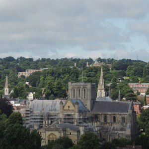 The Cathedral from St Giles