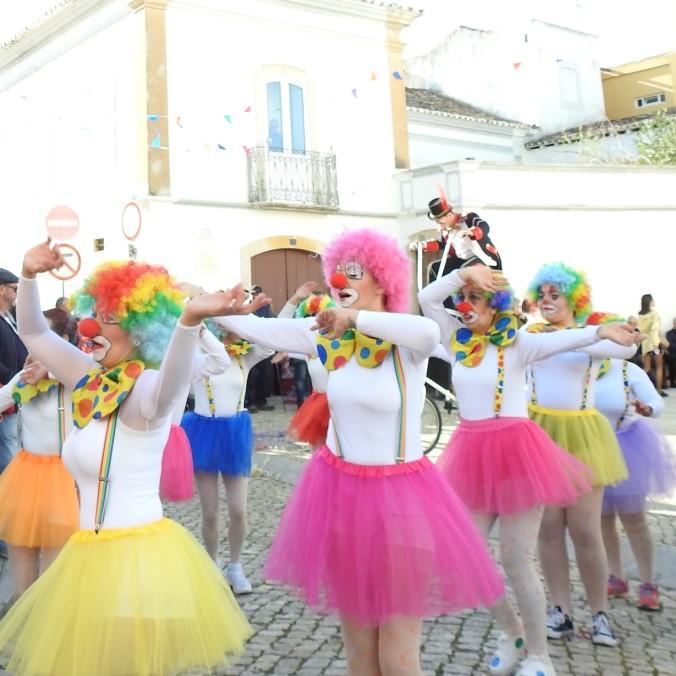 Carnival in Moncarapacho, Algarve