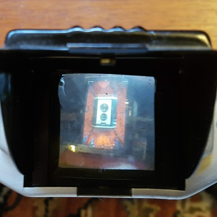 Looking through the viewfinder today