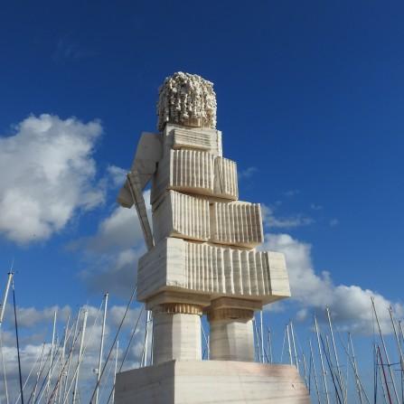 Algarve street sculpture
