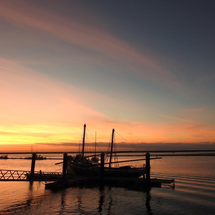 Sunrise on 23rd December