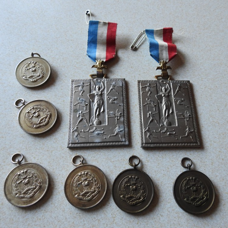 Dad's Army running medals