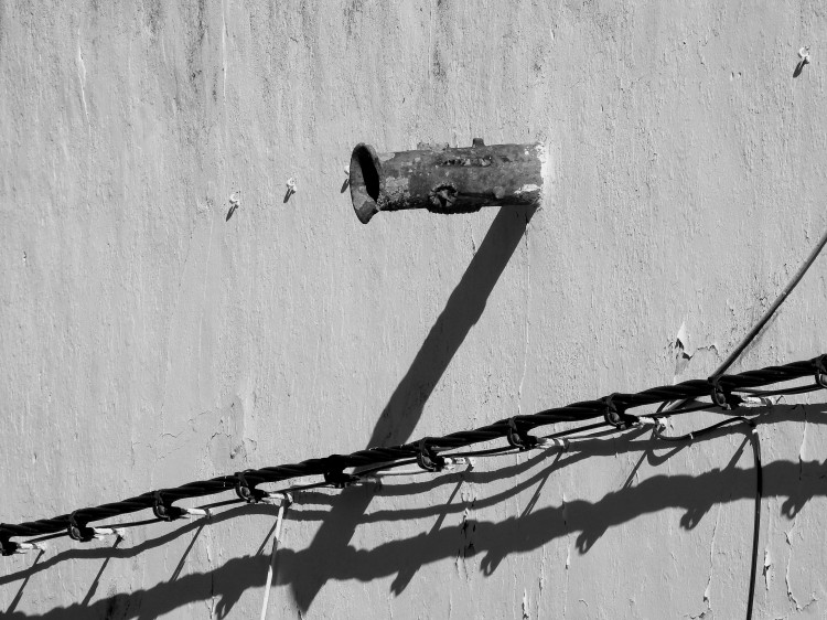 Drain Pipe and Wires