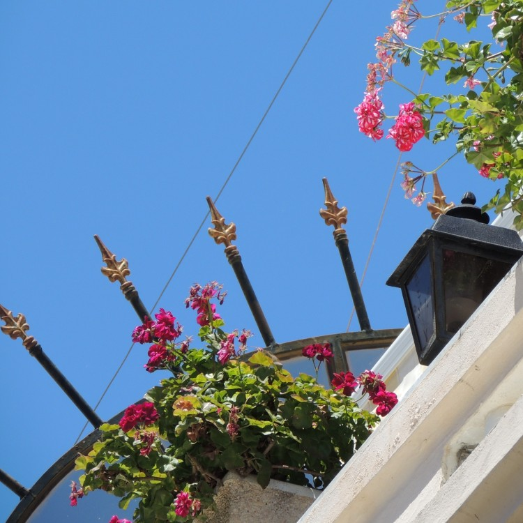 Decorative spikes in the Algarve