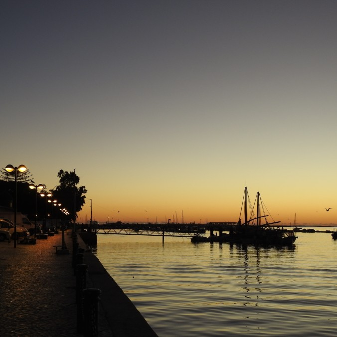 Dawn in Olhao
