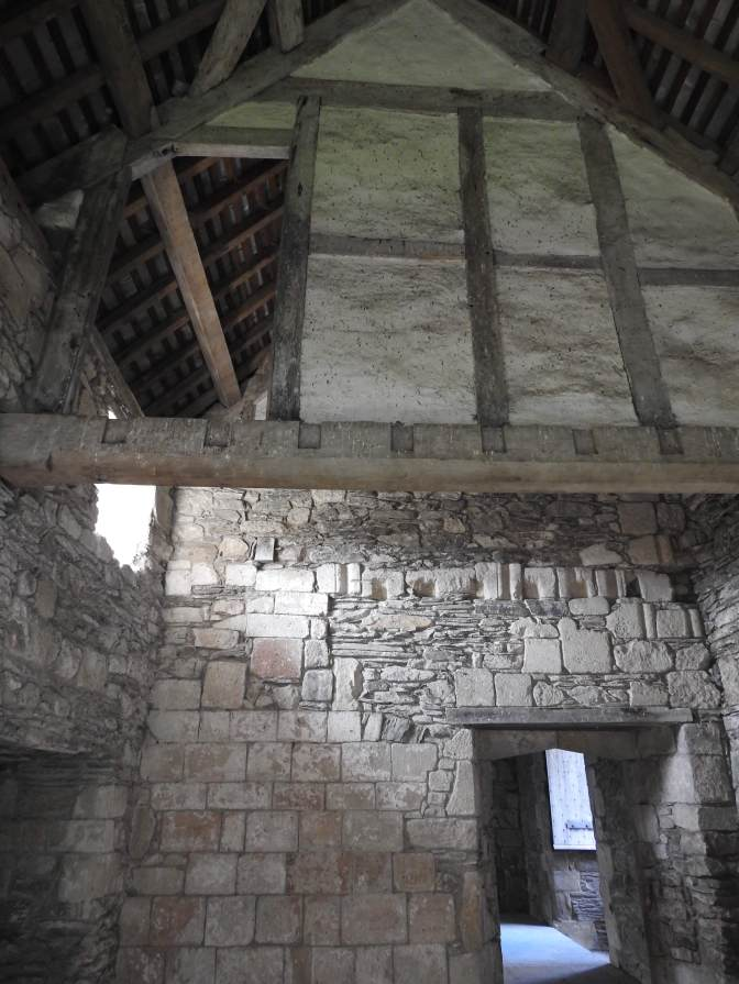 Great example of wattle and daub