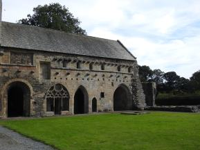 Chapter House with dormitory above