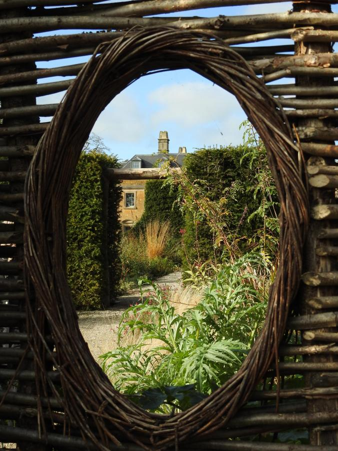 View from a wicker