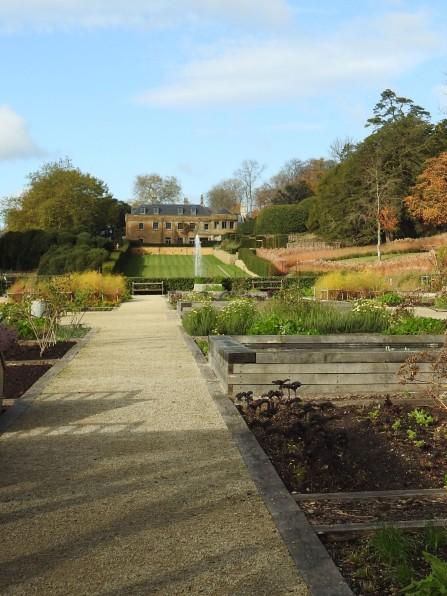 View from Kitchen garden