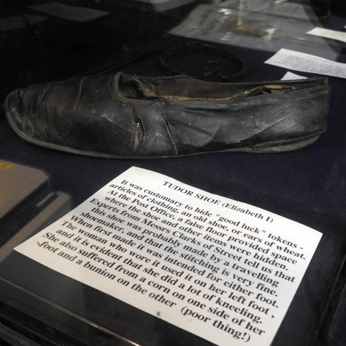 Castle Cary Museum - Tudor Shoe