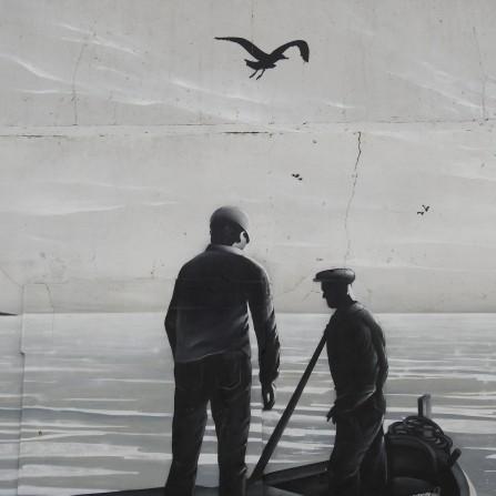 Delight of grey in street art