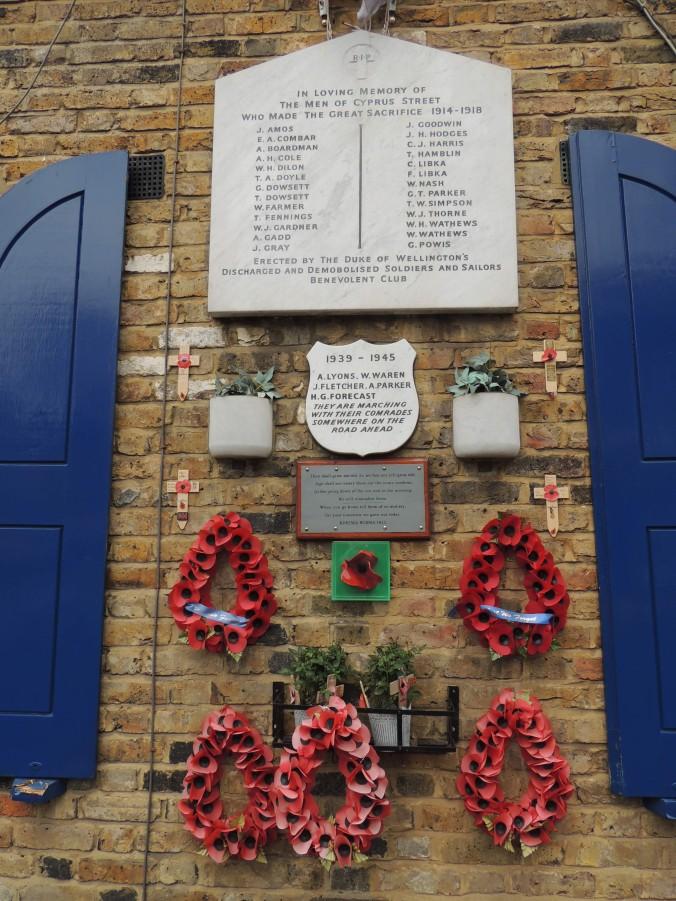 Cyprus Street War Memorials January 2020