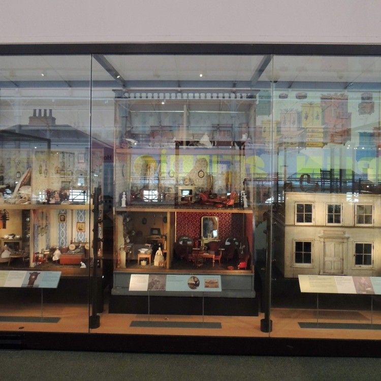 Dolls Houses at Museum of Childhood