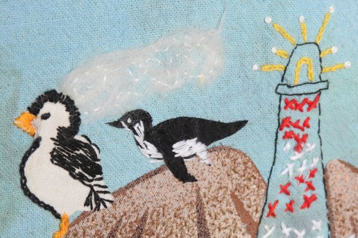 Puffins, penguins and a lighthouse