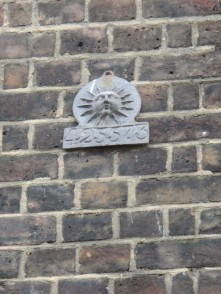Fire Insurance Plaque (probably a replica)
